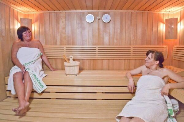 Niedrigtemperatur Sauna